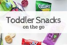 Toddler Snack and Lunch Ideas / Ideas and recipes for toddler snacks and lunched