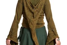 Pixie coats and fairy jackets / Fairy, pixie and elven coats and jackets