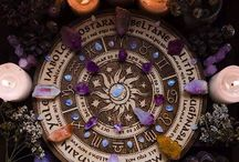 Wheel of the year / Wheel of the year, pagan festivals of the year, cycles of growth, fullness and decay