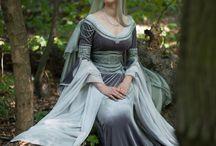 Elven dresses / Magical dresses for elven and fair folk
