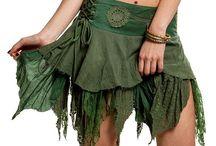 Fairy skirts / Skirts for fairies, pixies and elven folk.