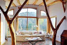 Earth building / Natural homes, earthships, strawbale and other eco earth building inspiratiom