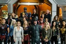 Dc Heroes / All superheroes and superhero shows but mainly DC comics and The CW