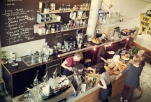 Love going to... Coffeeshops and Restaurants