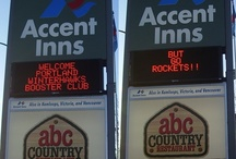 Accent Inns, Our Fun Signs / Here's some of the fun signs our team has put up on our readerboards around the province