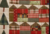 Miniature Quilts / Traditional and modern lovely little mini quilts