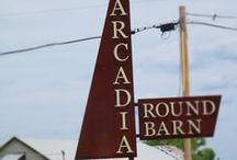 Arcadia, Oklahoma / Considered by some but not by others to be a historical all-black town of Oklahoma. See much more about this very interesting history at www.struggleandhope.com