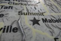 Summit, Oklahoma / One of Oklahoma's remaining all-black towns. Find out much more about this amazing history at www.struggleandhope.com