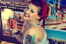 Rockabilly & Pin Ups / Please feel free to repin as much as you like because that's what Pinterest is all about! Happy Pinning! ❤️ Rebel Elle xx