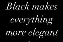 Black / Fashion & Beauty.  Please feel free to repin as much as you like from any of our boards because that's what Pinterest is all about!  Happy Pinning! ❤️ Rebel Elle xx