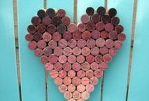 Craft projects for Valentines Day / Ideas for things to make for Valentines Day or Anniversaries.