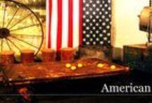 Kolekcja AMERICAN DREAM www.GDEL.pl  / American Dream otwiera serię kolekcji inspirowanych państwami i miastami świata. Kolekcja ta nawiązuje do industrialnego okresu w historii Stanów Zjednoczonych. Unikalne taborety, wielkie koło i metalowa ława tworzą spektakularną całość, którą można podświetlić lampą teatralną, by dodać całości hollywoodzkiego blasku.