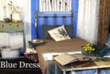 Kolekcja BLUE DRESS ze strony www.gdel.pl   / Interesuje Cię podkowa na szczęście? A może oryginalny stolik z taśmy filmowej?  W starych sprzętach dostrzegamy potencjał na ich nowe życie, w którym łączą praktyczność ze stylem odnowy i recyklingu.  Ciekawe industrialne dodatki i precyzyjnie wystylizowane meble – taka jest właśnie kolekcja Blue Dress.
