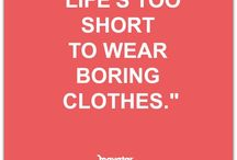 Fashion Quotes / Please feel free to repin as much as you like from any of our boards because that's what Pinterest is all about!  Happy Pinning! ❤️ Rebel Elle xx