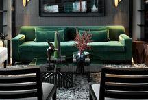 Decoration of interiors / Interni e atmosfere