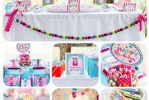 Ideias para festas / Ideias criativas para aniversários e outras festas de diversos temasa