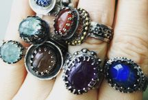 Jewelry @taymiristudio / Handmade jewelry, boho, gotic, silver ring, silver jewelry