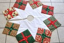 Christmas DIY and sewing ideas with fabrics