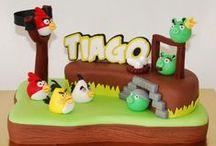 Aniversário Angry birds ideias / Ideias para decoração e lembranças do tema angry birds