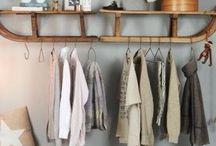 Garderobe / Es ist allerhöchste Zeit für ein wenig Ordnung im Eingangsbereich. Am liebsten kostengünstig, selfmade und kreativ!