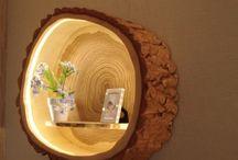 Naturally beautiful / Natürliche Materialien und Formen sind ein echtes Highlight in Wohnräumen, denn sie strahlen Behaglichkeit und trotzdem pure Individualität aus. Einrichtungsideen mit Holz, Naturstein und Co..