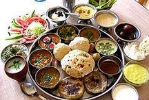 Food from all over India / India is a vast subcontinent with various provinces, each with its own flavour, hence this board / by Nalini