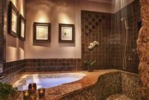 Bathrooms / Bathroom/Home Spa Design/Decor