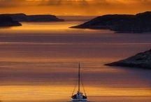 Naturen og hverdagen hånd i hånd / En solnedgang gir gode minner