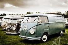 Volkswagen Bus / Eine Bildersammlung mit VW Bulli´s bzw. VW Transportern