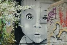 Street Art / Bildersammlung mit Street Art Motiven / by The Lucky Rebel
