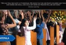 Advent Calendar 2014 / Each day during advent you can be inspired and uplifted by the work God is doing in Compassion projects around the world.