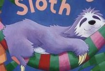 The Very Sleepy Sloth / Deep in the jungle, early in the morning, the animals are all working hard... except for Sloth. He just lies there. Isn't it time he did something?