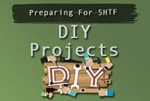 DIY  Prepper Projects / Great collection of DIY Prepper Projects - Preparing For SHTF