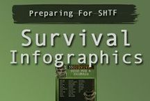 Survival Infographics / Informative infographics that could help you in a shtf scenario.