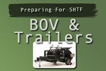 Bug Out Vehicle's - Trailers