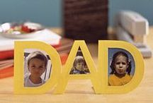 Celebrating Dad / Celebrating #Dad on Father's Day #fathersday #gift and #craft #ideas