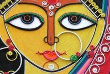 India. Art