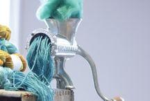 et aussi ... yarn art / Textile art, yarn art, yarn bombing