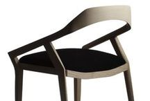 ANTELOPE CHAIR Dining chair and table - Swedese - 2010 / Antelope, wooden chair in solid ash wood with upholstered seat in fabric or leather.  Year Completed: 2010 Design: Monica Förster Design Studio