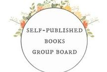 Self-Published Books Group Board / This is a Group Board by self-published authors. Pin links + blog posts to your self-published book (or upcoming book release) + advice for self-published authors. Please share high quality pins that relate to your book directly or that offer quality +practical resources. NO duplicate pins! Limit 3 pins per day. Repeat offenders may be removed from the board. To join + pin to this group board: (1) Follow my account (2)Follow the board (3) Email me at: caravansonnet@gmail.com for an invite.