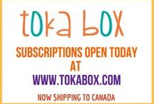 Toka Box / A holistic subscription box for kids 3-5 yr olds & 5-8 yr olds. Each box is an immersive experience on a new theme that combines identity and culture with learning by doing.  Each box comes with a hand-picked picture book and related activities tied to literacy and STEAM skills. It also comes with a bonus recipe to cook with your child. www.tokabox.com #tokabox #activitybox #diversebooks #STEAM