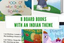 Board books with an Indian theme / Board books that you will love!