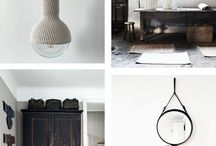 et aussi ... inspiration in grey, black and white / Interior inspiration in grey tones. Products by et aussi in grey shades combined with inspirational interiors.