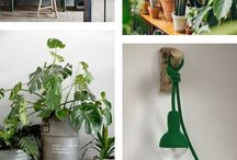 et aussi ... inspiration in green / Interior inspiration in green  tones. Products by et aussi in green shades combined with inspirational interiors.