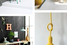 et aussi ... inspiration in yellow, orange and red / Interior inspiration in bright colours. Products by et aussi in red, orange and yellow shades combined with inspirational interiors.