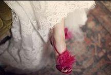 the bride wore pink / something old, something new, something borrowed, something pink!