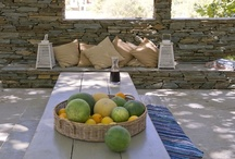 Nature sets the table / Local Grinds. Traditional recipes of Andros. / by Onar Andros
