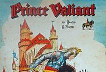 Prince Valiant / Prince Valiant by Harold R. Foster - Edizioni Camillo Conti Roma
