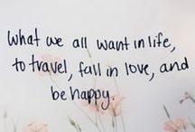♥ Inspirational Quotations ♥ / Quotes that make me smile ☺