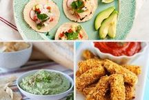 Healthy Appetizers and Finger Foods / If your hosting a party or headed to one these recipes are great to bring along!